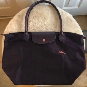 Longchamp le pliage club tote large bilberry
